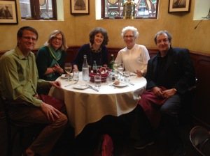 4-person French class at La Voile, Boston